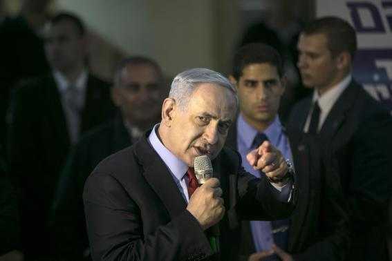 Flagging before election, Netanyahu ramps up rhetoric