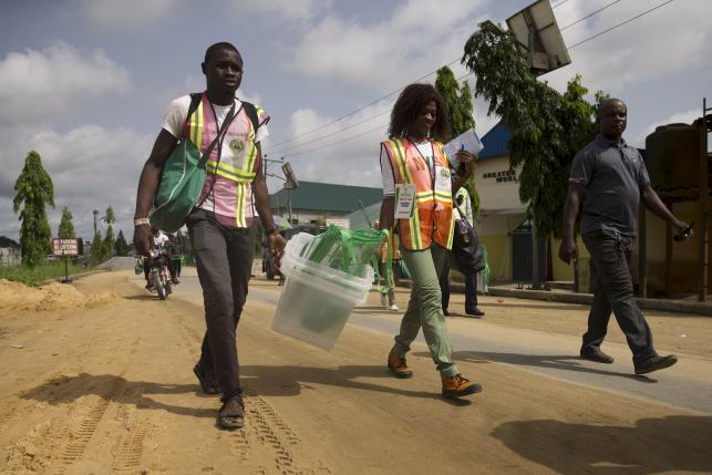 Nigeria opposition protests presidential vote in oil state