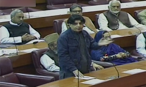 Government wants to take Imran Farooq's killers to logical conclusion, says Chaudhry Nisar