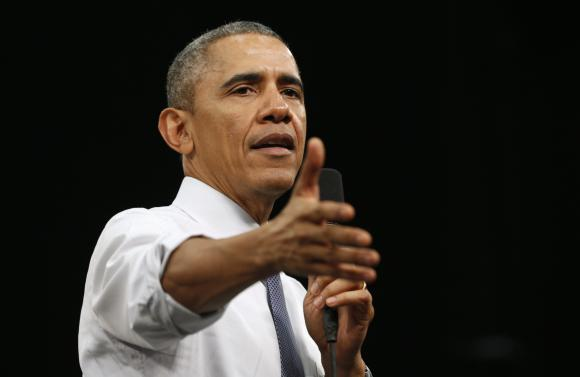 Obama says learned about Clinton's emails from news reports: CBS