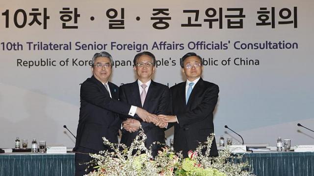 South Korea, Japan, China to meet on three-way cooperation