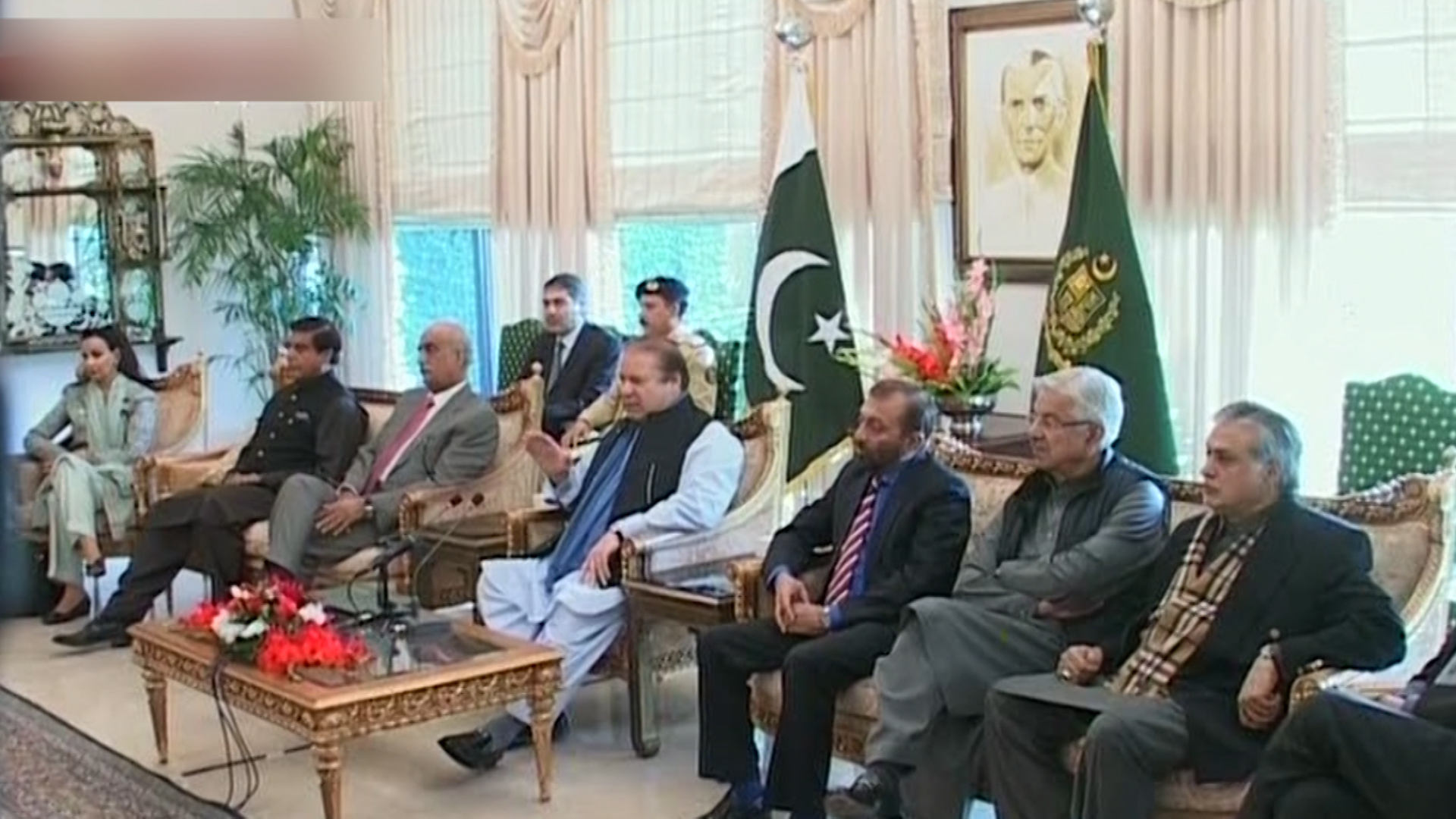 Nawaz Sharif says agreement with PTI a good omen; MQM opposes Judicial Commission