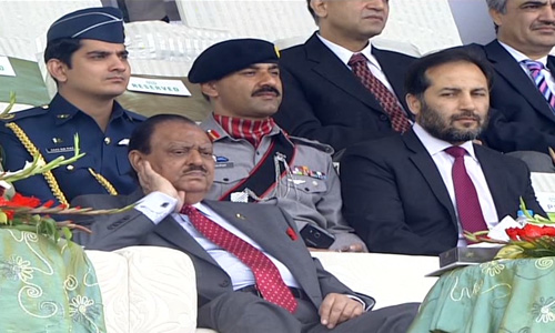 President Mamnoon Hussain opens Horse and Cattle Show in Lahore