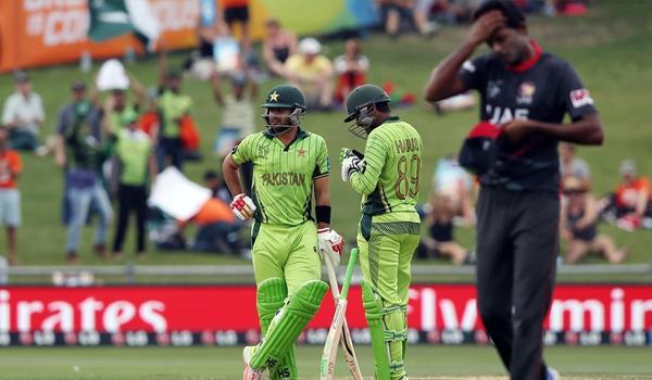 Shahzad anchors Pakistan to 129-run victory against UAE