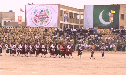 Colourful Balochistan Sports Festival concludes