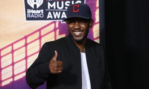 US rapper Kendrick Lamar scores UK album number one