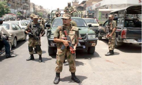 One killed, several injured in violence as Rangers raid Nine Zero