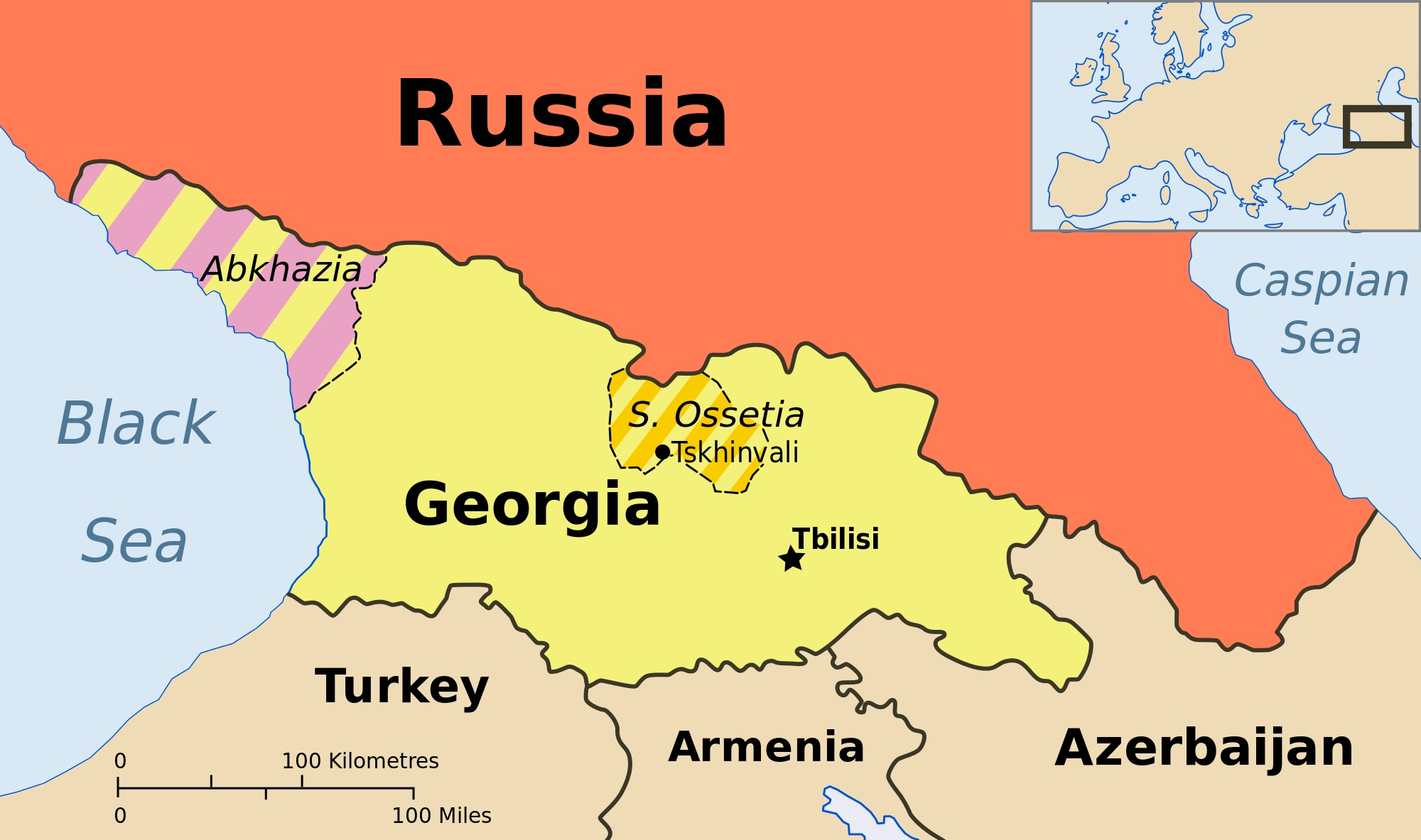 Russian treaty with rebel Georgian region alarms West