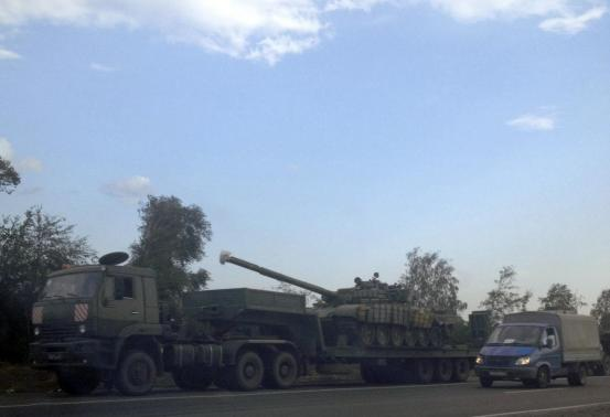 More Russian tanks, equipment cross Ukraine border: US official