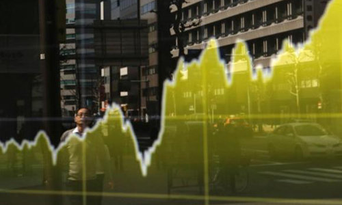 Asian shares fuelled by Wall Street's rise on weaker dollar