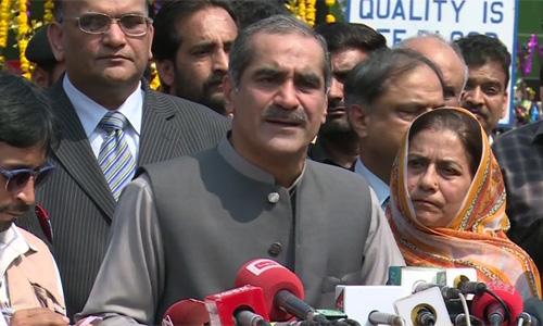 No political party chief has a right to criticize army, COAS: Khawaja Saad Rafique