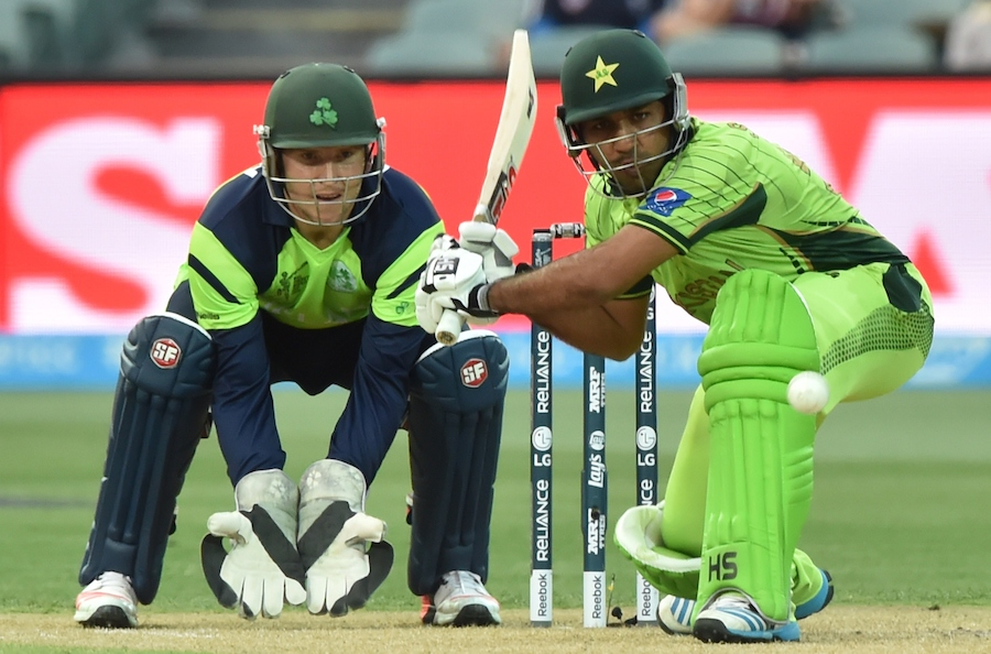 Pakistan in quarters after beating Ireland
