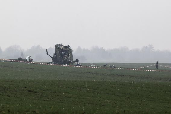 Serbian military helicopter crashes, seven dead including child