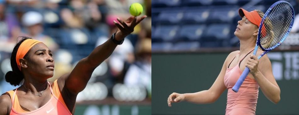 BNP Paribas Open: Tearful Pennetta stuns Sharapova, Serena wins