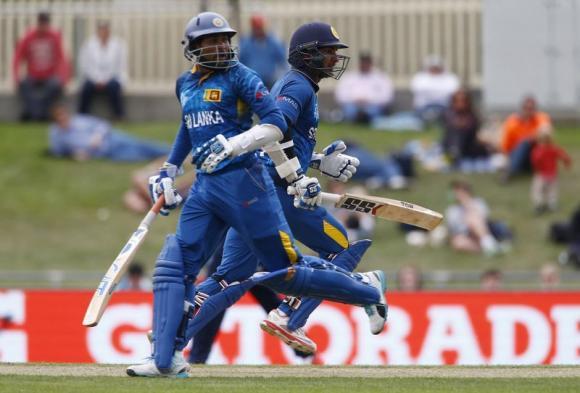 Sangakkara milestones in Sri Lanka's romp over Scotland