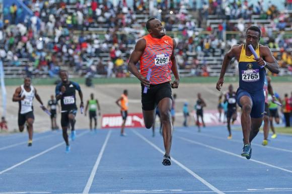 Athletics – Bolt team loses relay race in season opener