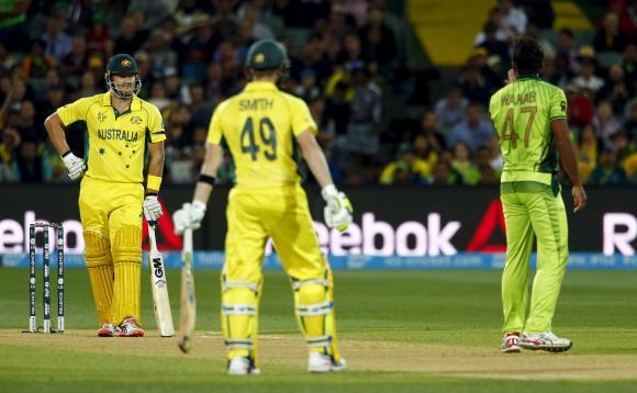 Wahab, Watson fined for quarter-final spat
