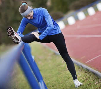 For upper-body warm-ups, stretch multiple muscles at once