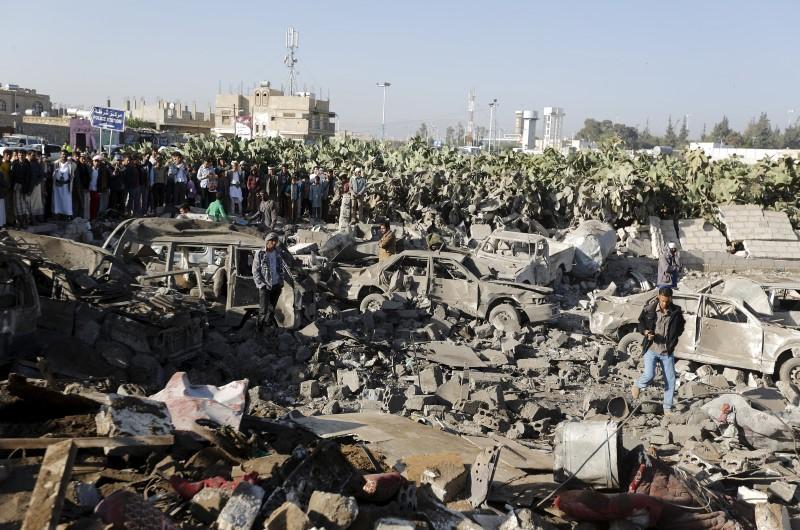 Air strike at Yemeni refugee camp kills 45: IOM