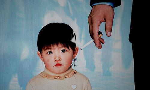 Kids exposure to secondhand smoke tied to clogged arteries