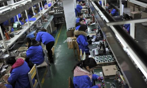China February HSBC PMI at seven-month high