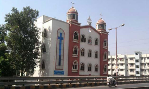 Masked men ransack church in Mumbai