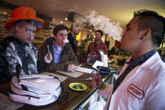 E-cigarette is addictive, habit-forming & very toxic by inhalation