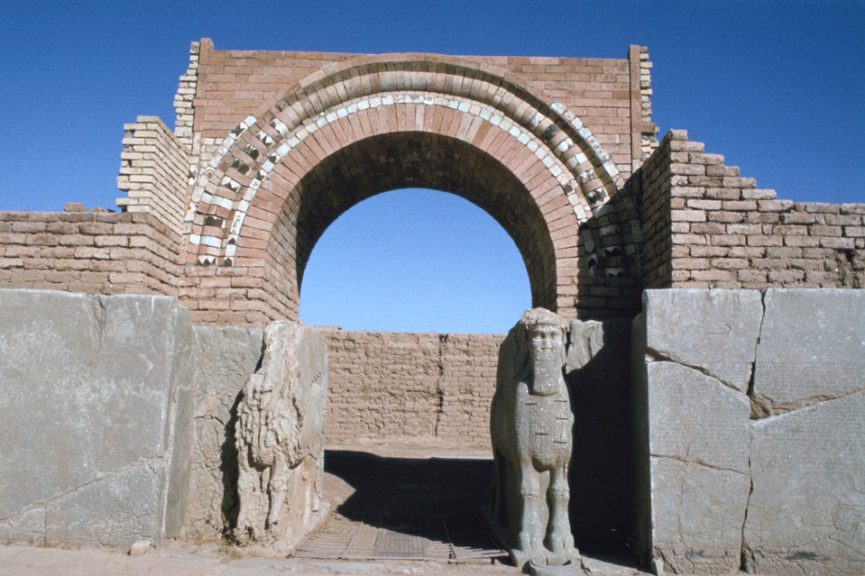 Islamic State militants bulldoze ancient Nimrud city