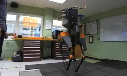 Robot stays on its feet despite punishment