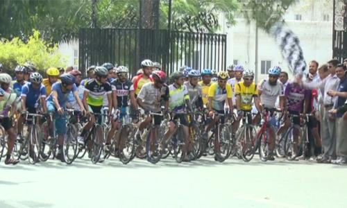 Fifth leg of Tour de Punjab Open cycle race kicks off from Bagh-e-Jinnah
