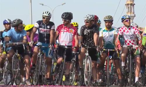 Tour de Punjab cycle race participants reach Lahore tomorrow