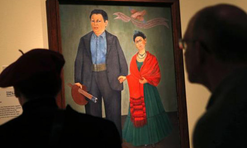 Detroit art museum to open Rivera and Kahlo exhibition in March
