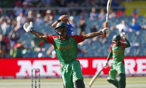 Mahmudullah ton powers Bangladesh to 275-7 against England