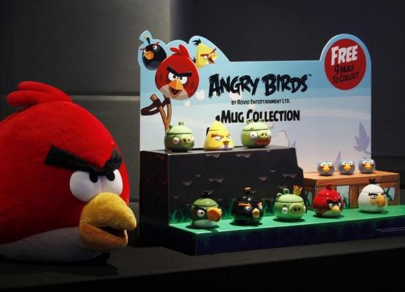 Angry Birds maker Rovio says profit fell 73 percent in 2014