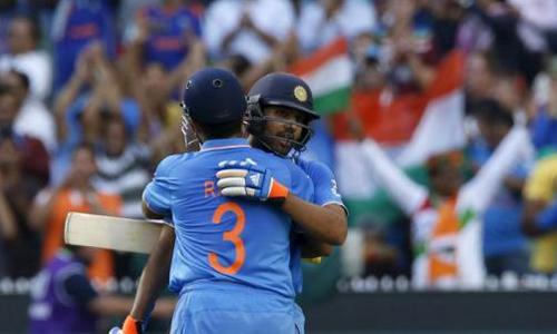 India upset Bangladesh by 109 runs to reach World Cup semis