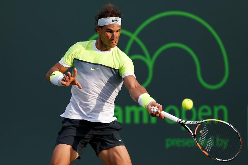Nadal, Murray advance in Miami