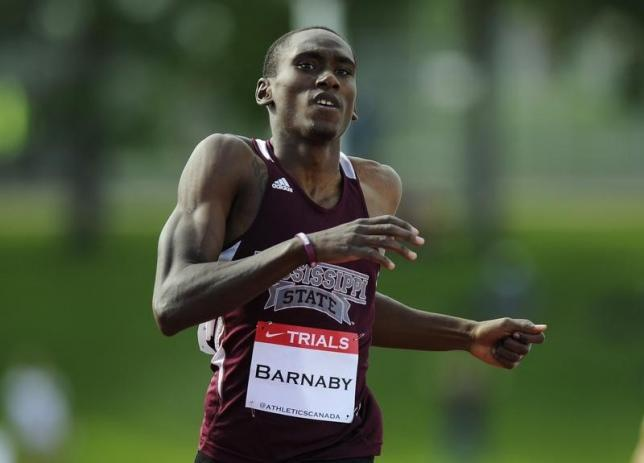 Canadian Olympic 400m runner Barnaby drowns