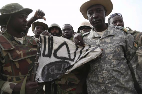 African troops' morale 'sky high' as they push back Boko Haram