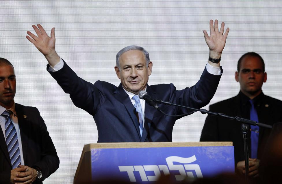 Netanyahu claims victory in Israel election after hard right shift