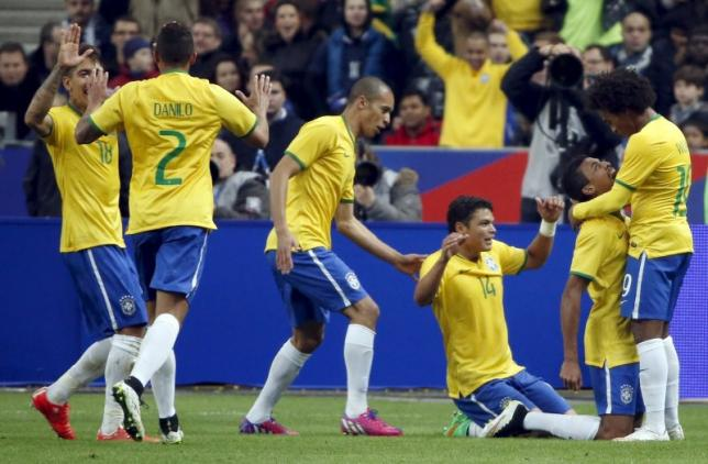 Brazil hand France first defeat since World Cup