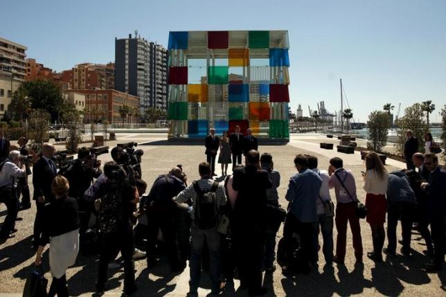 "Spanish ""pop-up"" Pompidou art centre opens in Malaga"