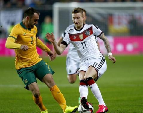 Podolski spares German blushes against Australia