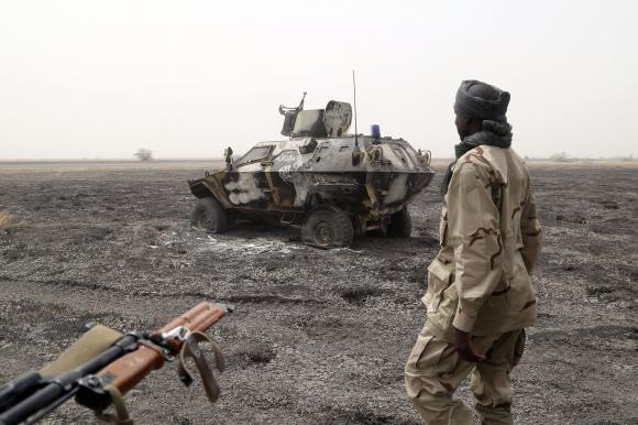 Nigeria says has pushed Boko Haram out of all but three areas