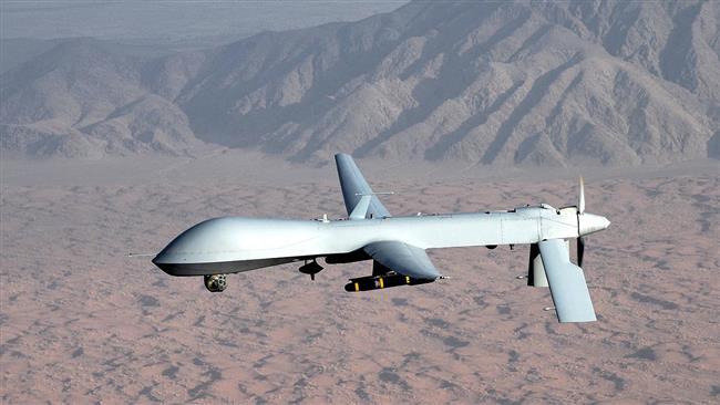Syria says has shot down US drone over its territory