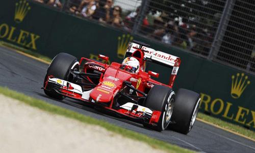 Ferrari upbeat after bright start Down Under