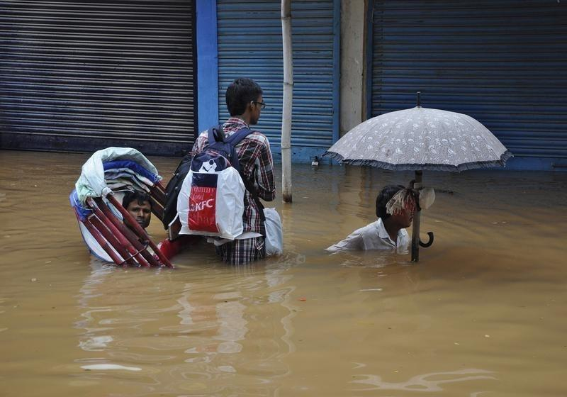 China, Bangladesh, India most at risk from river floods