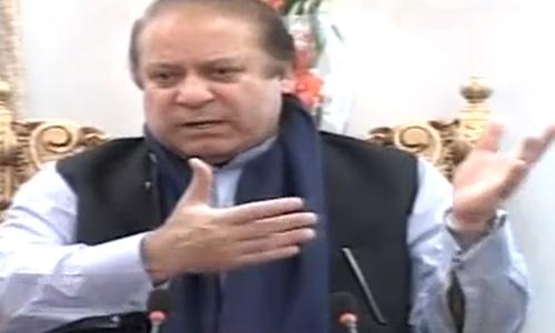 Prime Minister Nawaz Sharif supports PPP's Raza Rabbani as Senate chairman