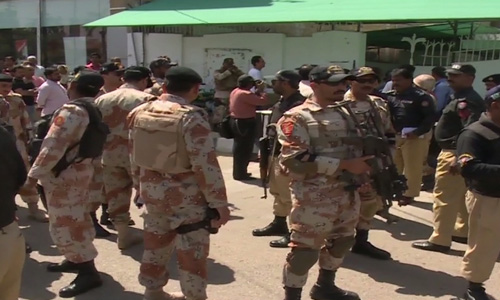 Another grenade attack on Karachi school