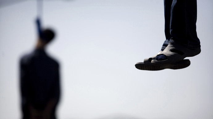 Twelve men hanged in largest execution since moratorium lifted
