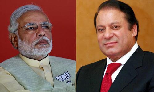 Indian PM Narendra Modi greets Nawaz Sharif on Pakistan Day